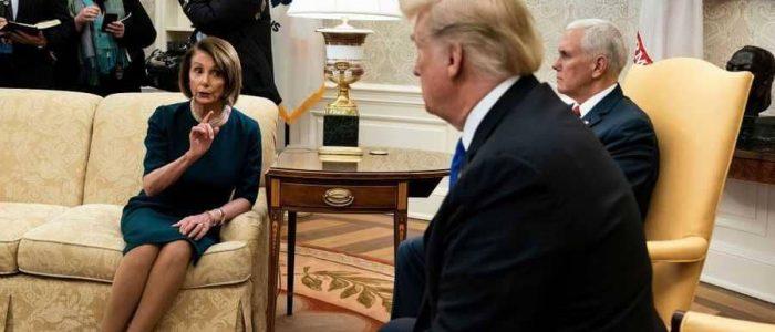 نانسي بيلوسي منعت ترامب من خطاب حالة الاتحاد
