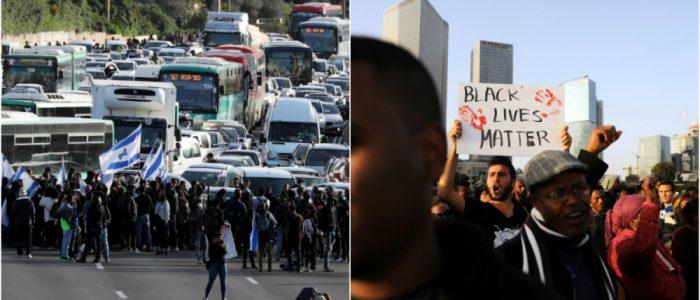 آلاف الإسرائيليين من أصول إثيوبية يتظاهرون ضد «وحشية» الشرطة