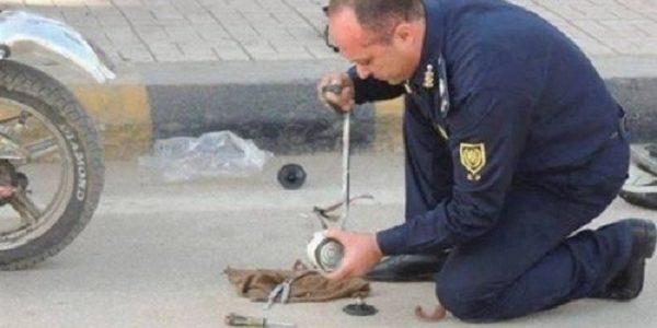جسم غريب يثير الذعر بالإسكندرية.. والحماية المدنية: عبوة خالية من أي متفجرات
