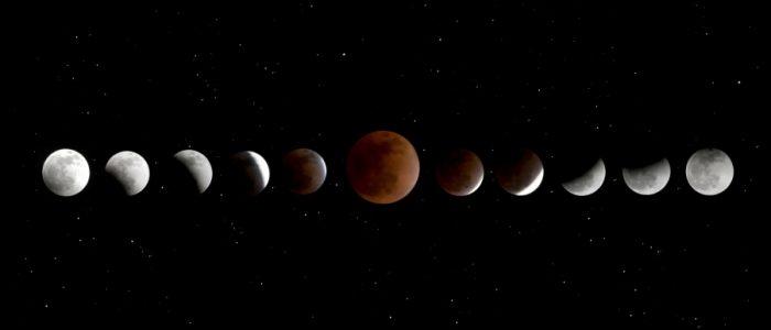 مواعيد وأماكن رصد خسوف القمر الدموي