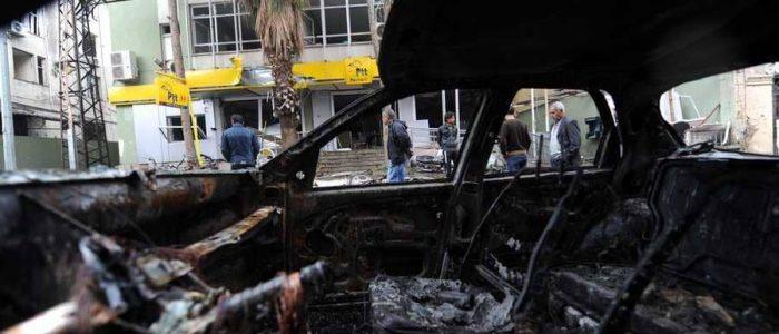 انفجار بالقرب من السفارة الروسية في دمشق