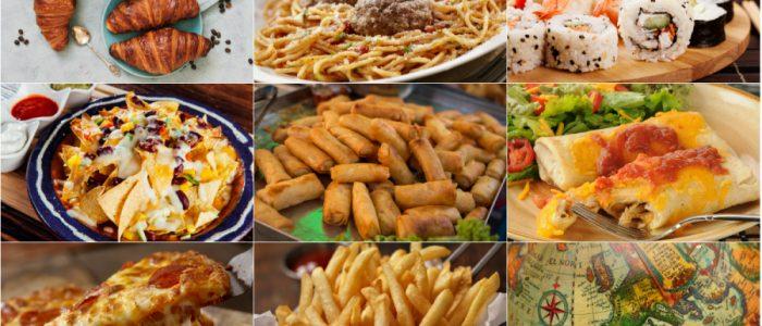 اكتشف أصول الطعام: البيتزا ليست إيطالية، الكرواسون ليس فرنسياً.. واليابانيون لا يأكلون السوشي!