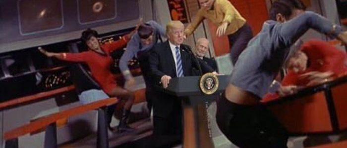قوة ترامب العسكرية بالفضاء في مسلسل كوميدي على نتفلكس