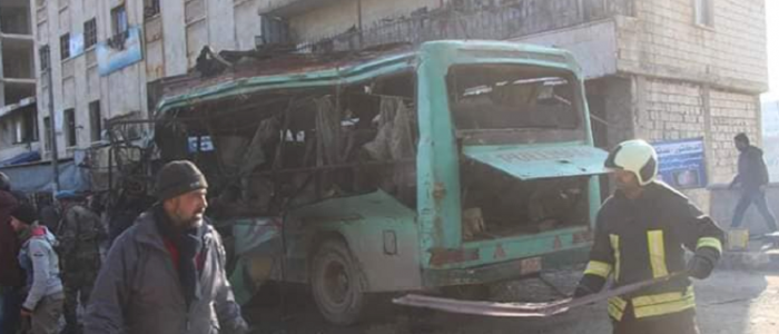 مقتل 10 أشخاص بتفجير عبوتين في عفرين شمالي سوريا