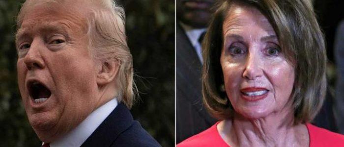 """حرب الشتائم بين ترامب وبيلوسي: الرئيس """"مهزوز ومصدوم"""" ورئيسة مجلس النواب """"مريضة نفسياً"""""""