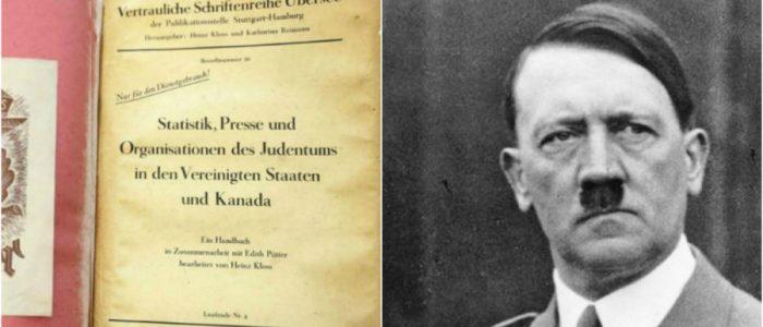الأرشيفُ الكندي يكشف عن كتاب هتلر