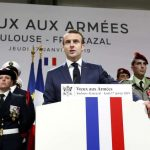 """ماكرون يتحدّث عن """"تواطؤ"""" بين القوميين ومصالح أجنبية """"لتفكيك أوروبا"""""""