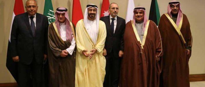 اختتام الاجتماع العربي السداسي في الأردن