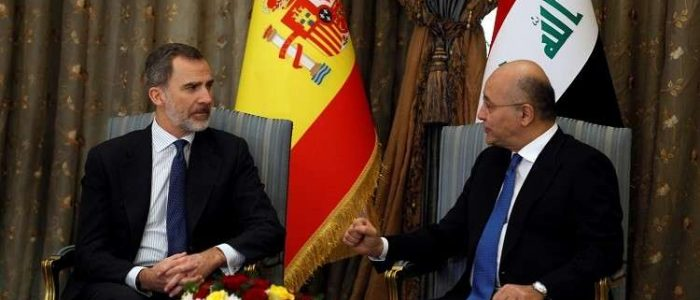 اسبانيا تقدم اعتذارا للعراق عن رفع العلم القديم خطأ