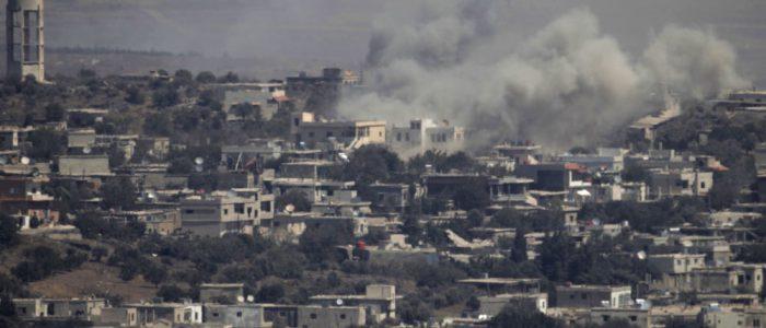 جيش الاحتلال الإسرائيلي يعترض قذيفة صاروخية أطلقت على هضبة الجولان