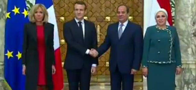 الرئيسان السيسي وماكرون يشهدان توقيع عدد من الاتفاقيات بين مصر وفرنسا