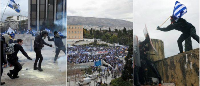 لماذا تظاهر عشرات آلاف اليونانيين ضد تسمية دولة مقدونيا؟