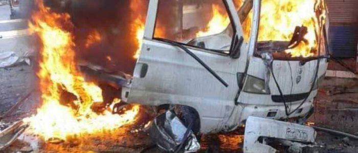 انفجار سيارة مفخخة في اللاذقية ومصرع منفذ الهجوم