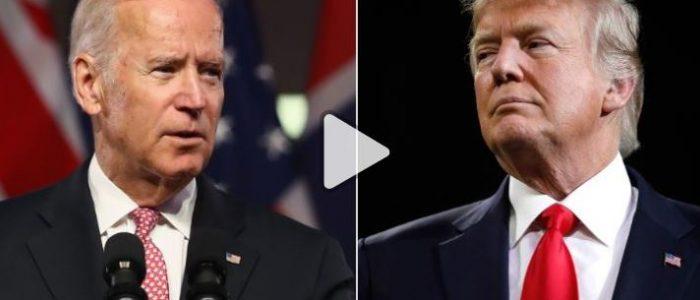 """ترامب يصف جو بايدن بـ """" الضعيف"""" ويقول """"أوباما أخرجه من كومة القمامة"""""""