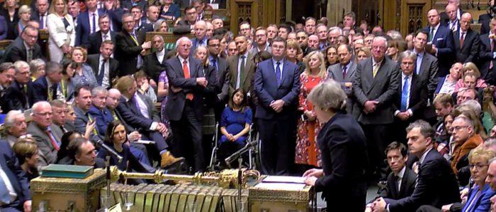 اقتراع على سحب الثقة من حكومة بريطانيا بعد رفض اتفاق الخروج