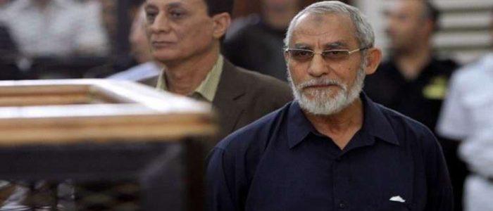 حكم ببراءة مرشد الإخوان المسلمين في أحداث مسجد الاستقامة