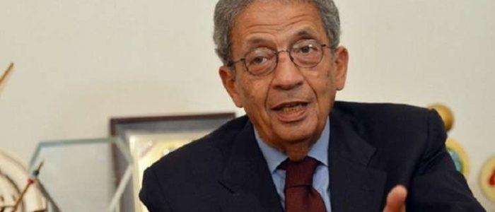 عمرو موسى: تراجع دور مصر أدى إلى تغول إيران وتركيا في المنطقة