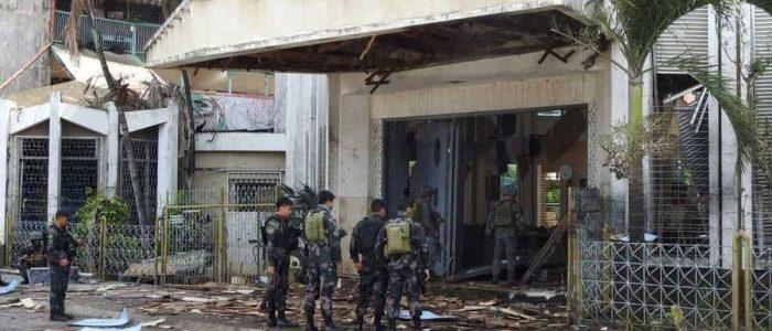 داعش يعلن مسؤوليته عن هجوم الكنيسة في الفلبين