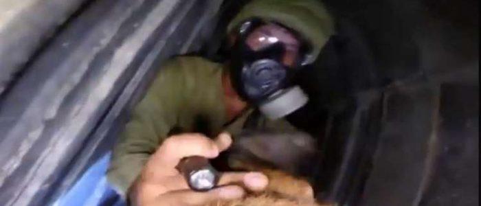 كلب مزود بكاميرا يلاحق خاطفي ضابط إسرائيلي في أنفاق غزة