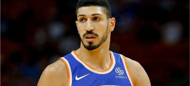 لاعب السلة التركي أنيس كانتر يلغي زيارة إلى لندن خوفا من تعرضه للاغتيال