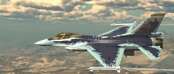"""سلاح الجو الأمريكي يطلي مقاتلات """"إف 16"""" بألوان """"السوخوي"""""""
