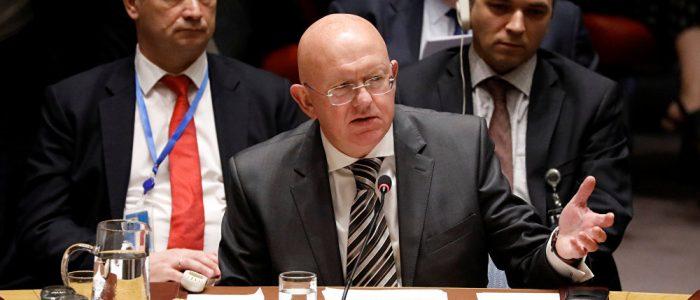 """روسيا تأسف لتوريط واشنطن مجلس الأمن في """"لعبة قذرة"""""""