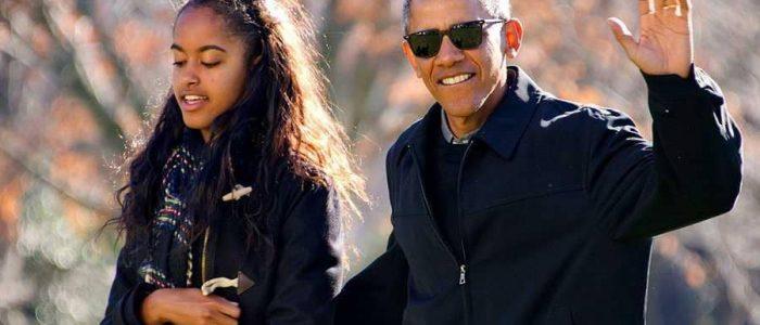 الكاميرات تلتقط مخالفة ابنة أوباما للقانون علي حوض السباحة