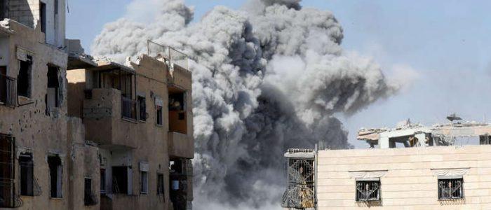 تفجيران يهزان وسط إدلب
