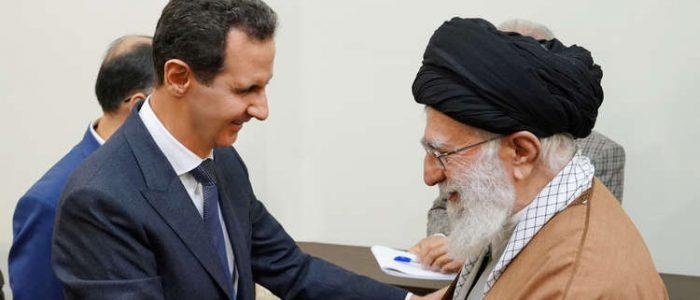 """واشنطن توصف  عناق الأسد وخامنئي بـ """"عناق القتلة"""""""