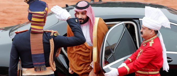 محمد بن سلمان يقيم في الفندق الذي أقيم فيه كلينتون وأوباما في الهند