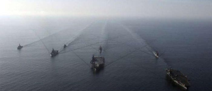 البحرية الإسبانية تستعرض عضلاتها في مياه جبل طارق