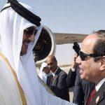 لقاء عابر يجمع الرئيس السيسي وأمير قطر في ألمانيا لحضور مؤتمر ميونخ للأمن