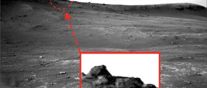 ناسا تعثر علي معبد الغرباء بالمريخ