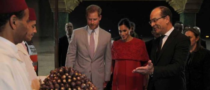 الأمير هاري وميجان يزوران مدرسة بجبال الأطلس في المغرب