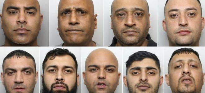 سجن تسعة رجال اغتصبوا مراهقتين في بريطانيا
