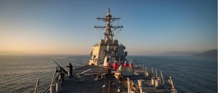 سفن حربية روسية تترصد مدمرة أمريكية دخلت البحر الأسود