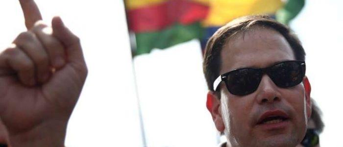 سيناتور أمريكي يهدّد مادورو بصورة القذافي وهو مضرج بالدماء قبيل مقتله
