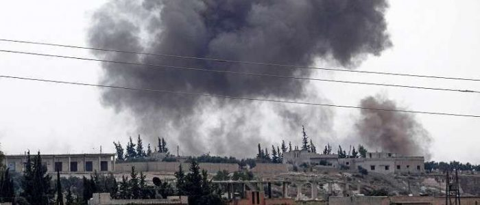 فصائل مسلحة تستهدف بلدات في ريف حماة الشمالي