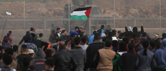 قصف إسرائيلي قرب الحدود الشرقية لقطاع غزة