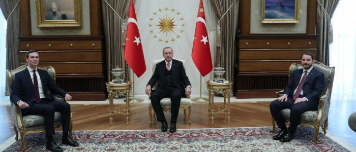 كوشنر يبحث مع أردوغان خطة السلام في الشرق الأوسط