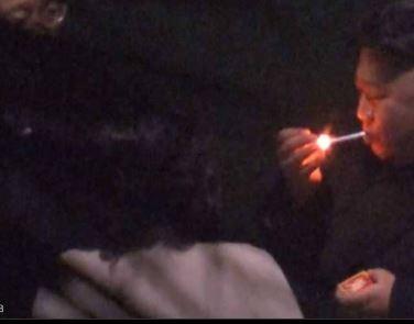 زعيم كوريا الشمالية يوقف القطار لأجل سيجارة