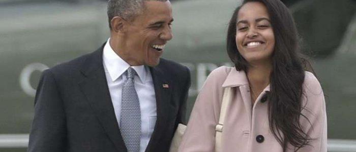 """ابنة أوباما تصف ترامب بـ""""الشرير"""""""