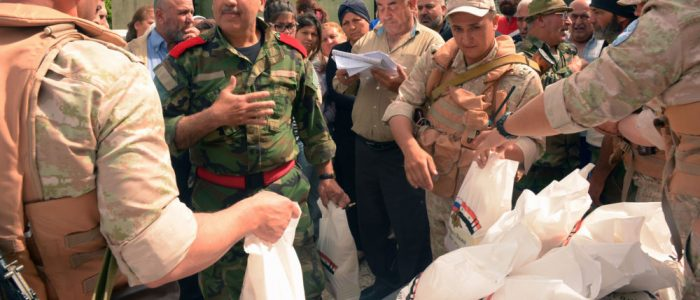 """بيان روسي سوري مشترك: واشنطن تمنع خروج النازحين من مخيم """"الركبان"""" وتضللهم"""