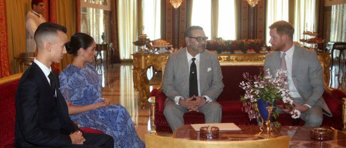 الأمير هاري وميجان يختتمان زيارة للمغرب بحفل شاي