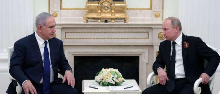 بوتين يناقش مع نتنياهو اليوم الوضع في الشرق الأوسط