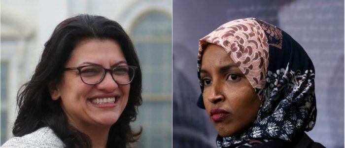 النائبتان المسلمتان في الكونجرس توقعان تعهداً خطياً بالإطاحة بترامب