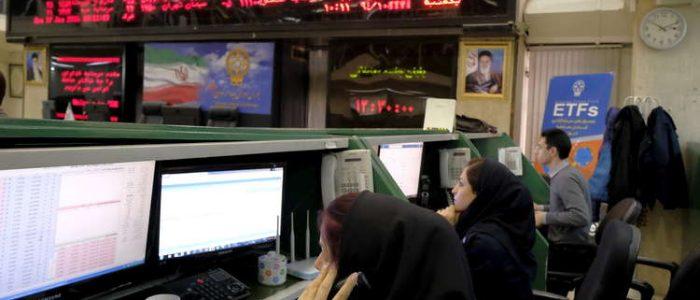 تراجع بورصة طهران بعد استقالة ظريف