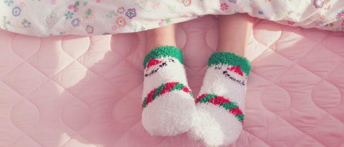 الجوارب تساعد على النوم المريح والطويل