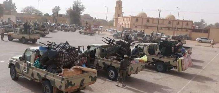 الجيش الوطني الليبي يسيطر على الحدود مع الجزائر وتشاد والنيجر