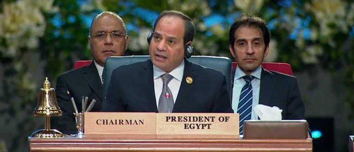 """السيسي: توافق """"فاق التوقعات"""" بالقمة العربية الأوروبية"""